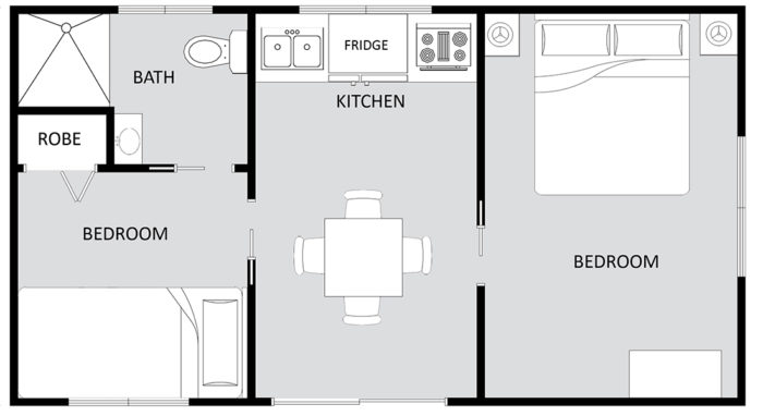 GOLDEN CASCADE Floor Plan