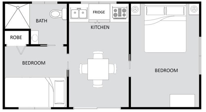 GOLDEN CASCADE Floor Plan